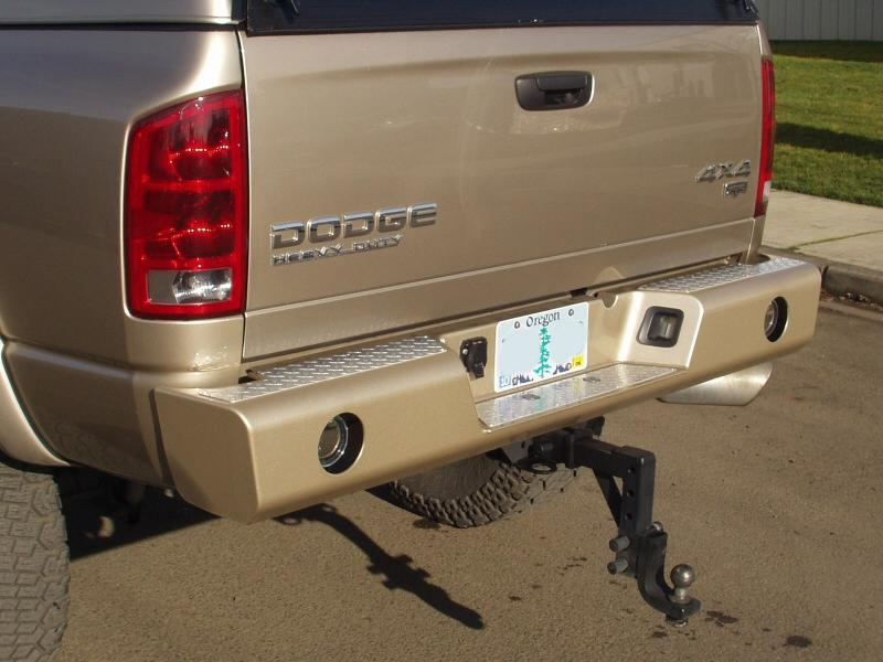 Truck Grill Guard >> Truck Accessories NW - Heavy duty front and rear bumpers ...